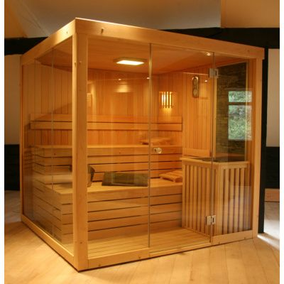 Afbeelding 8 van Azalp Sauna rugleuning Lumen, Elzen
