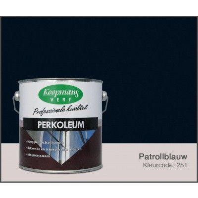Hoofdafbeelding van Koopmans Perkoleum, Petrolblauw 251, 2,5L zijdeglans