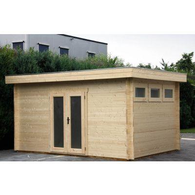 Bild 56 von Azalp Blockhaus Ingmar 596x596 cm, 45 mm
