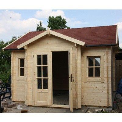 Bild 11 von Azalp Blockhaus Essex 500x550 cm, 30 mm