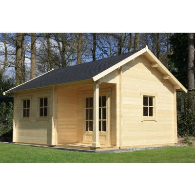 Afbeelding 7 van Azalp CLASSIC blokhut Cottage Style Cumberland 520x430 cm, 45 mm