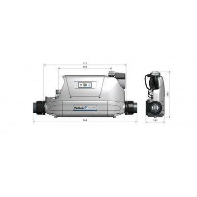 Afbeelding 3 van Pahlen Aqua Mex compleet 70 kW - Nikkellegering (tot 200 m3)