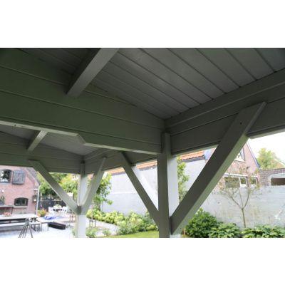 Bild 11 von Azalp Blockhaus Ben 650x650 cm, 45 mm