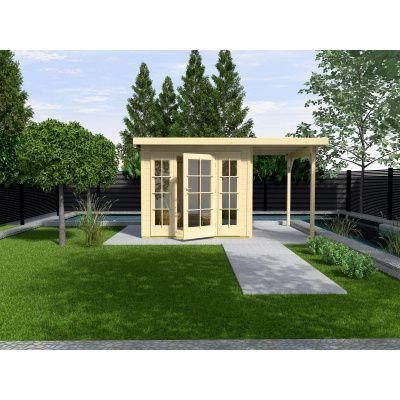 Hoofdafbeelding van Weka Tuinhuis 172 Gr. 2 met Aanbouw