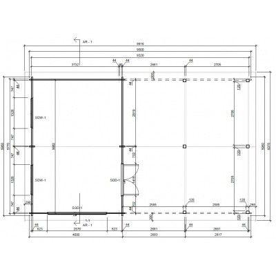 Bild 10 von Graed Double Garage + Carport 950x595 cm, 44 mm