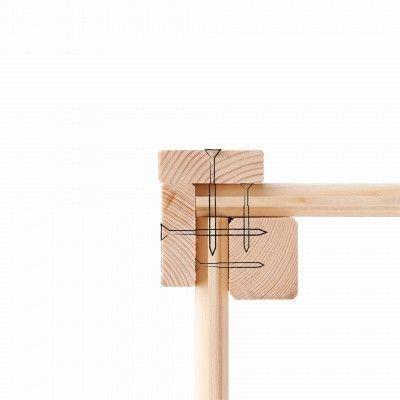 Afbeelding 4 van Woodfeeling Mechelen 1 met luifel 240 cm Zijdegrijs