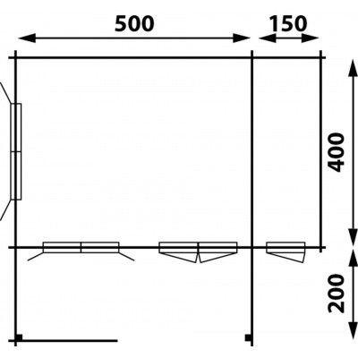 Afbeelding 2 van Interflex 5x4+2Z, geverfd