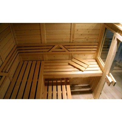 Afbeelding 4 van Azalp Saunaraam massieve sauna Genio 41x76 cm*