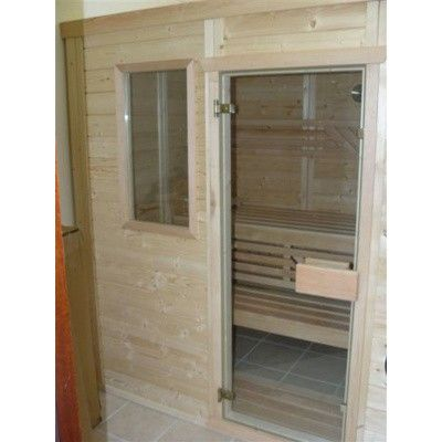 Afbeelding 6 van Azalp Saunaraam massieve sauna Genio 41x76 cm*
