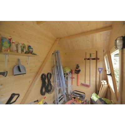 Bild 4 von Azalp Blockhaus Kent 250x250 cm, 30 mm