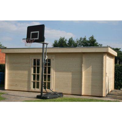 Bild 8 von Azalp Blockhaus Lars 400x350 cm, 45 mm