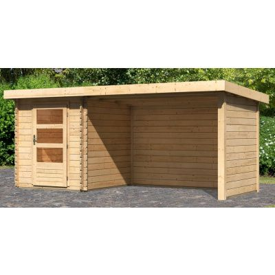 Hoofdafbeelding van Woodfeeling Bastrup 1 met veranda 300 cm (91529)