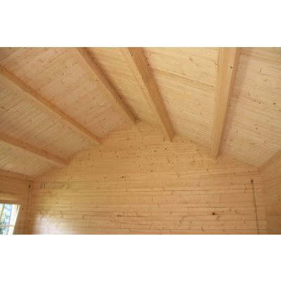 Afbeelding 10 van Azalp CLASSIC blokhut Cottage Style Kinross, 45 mm