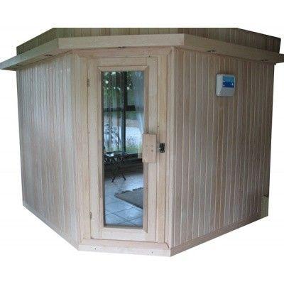 Afbeelding 6 van Azalp Dakrand voor sauna Classic elzen/espen*