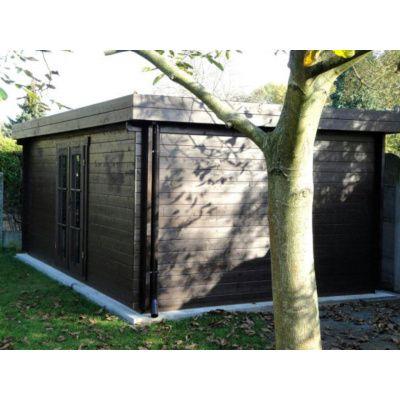 Bild 75 von Azalp Blockhaus Ingmar 596x596 cm, 45 mm