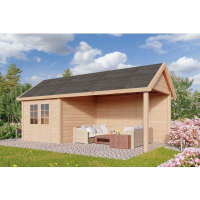 Hauptbild von WoodAcademy Sapphire Excellent Nero Gartenhaus 780x400 cm