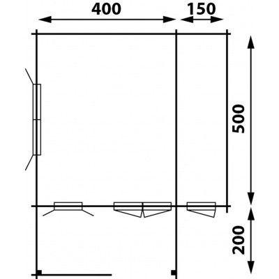 Afbeelding 4 van Interflex 4x5+2Z, geverfd