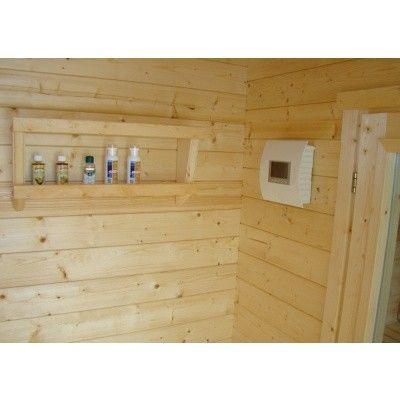 Afbeelding 2 van Azalp Sauna Toebehorenrek