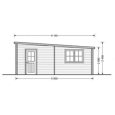 Bild 5 von Graed Modern Garage 400x600 cm, 44 mm
