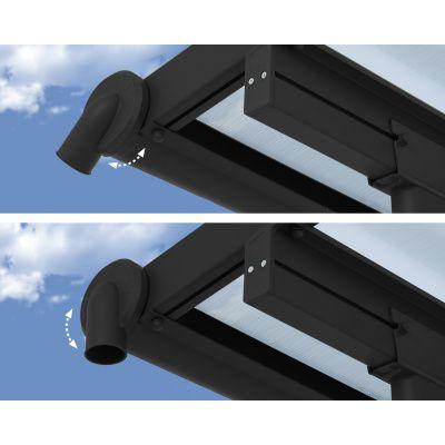 Afbeelding 3 van Palram Olympia patio cover 3X9.71 grijs