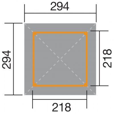 Afbeelding 2 van Weka Tuinoase 651 Gr. 1