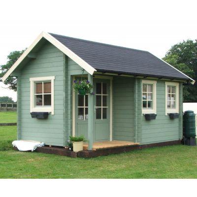 Bild 4 von Azalp Blockhaus Cottage Style Cumberland 520x430 cm, 45 mm