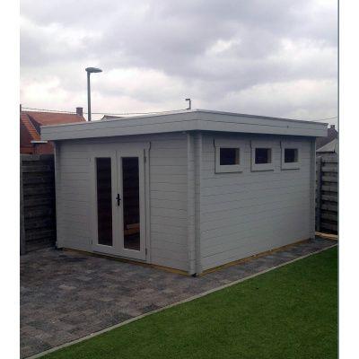 Bild 40 von Azalp Blockhaus Ingmar 596x596 cm, 45 mm