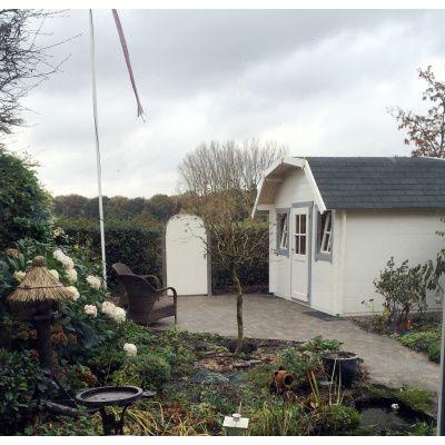 Bild 15 von Azalp Blockhaus Yorkshire 400x400 cm, 30 mm