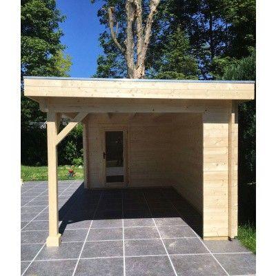 Bild 6 von Azalp Blockhaus Edith 500x300 cm, 45 mm