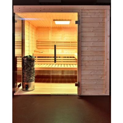 Bild 28 von Azalp Sauna Luja 240x190 cm, 45 mm