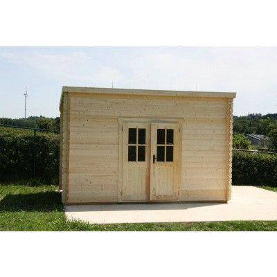 Bild 14 von Azalp Blockhaus Steven 350x400 cm, 45 mm