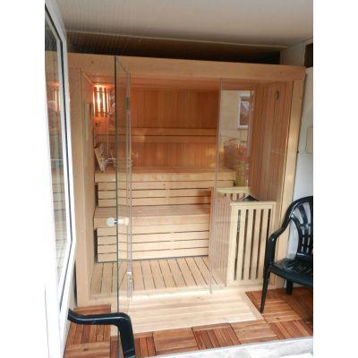 Afbeelding 3 van Azalp Sauna rugleuning Lumen, Elzen