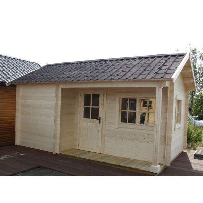 Bild 8 von Azalp Blockhaus Kirkwall 500x550 cm, 45 mm