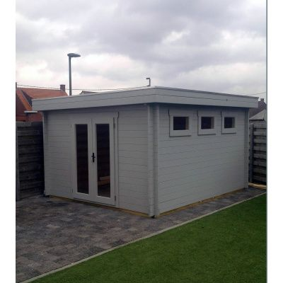 Bild 40 von Azalp Blockhaus Ingmar 300x300 cm, 45 mm