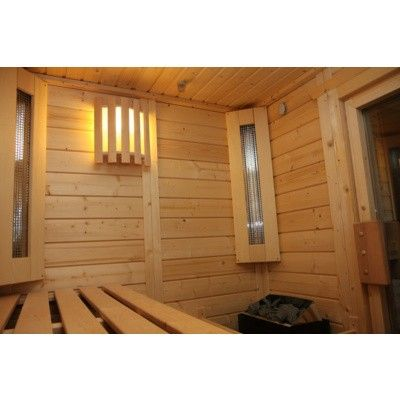 Afbeelding 42 van Azalp Massieve sauna Genio 250x190 cm, 45 mm