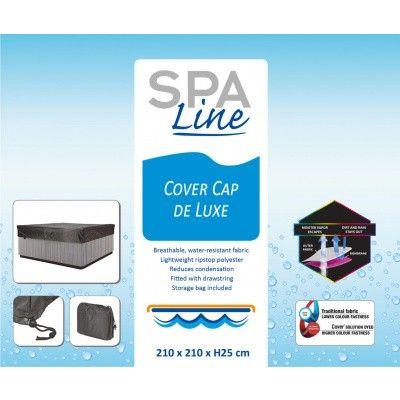 Afbeelding 2 van Spa Line Cover Cap deLuxe 210 x 210 x H25 x 10 cm