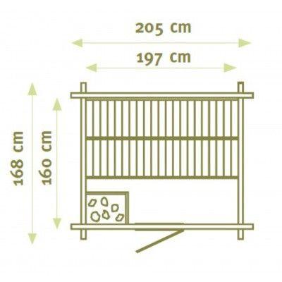 Afbeelding 2 van Interflex Sauna MS 2