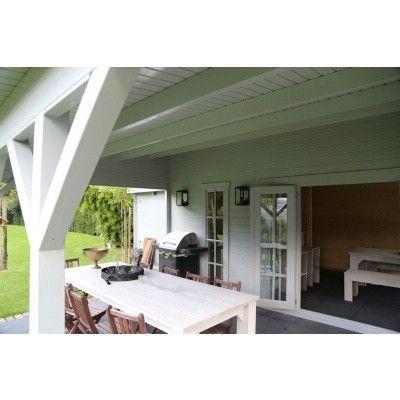 Bild 45 von Azalp Blockhaus Ben 650x750 cm, 45 mm