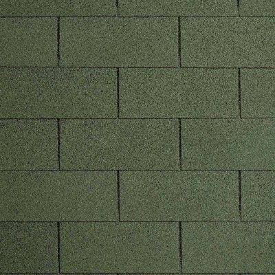 Afbeelding 2 van IKO Shingles 3m² Groen 3-tab Number One