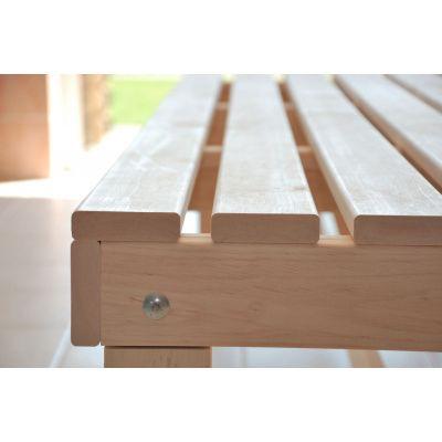 Afbeelding 3 van Azalp Saunabank vrijstaand, Elzen breedte 60 cm