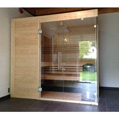 Afbeelding 26 van Azalp Sauna Luja 230x250 cm, 45 mm