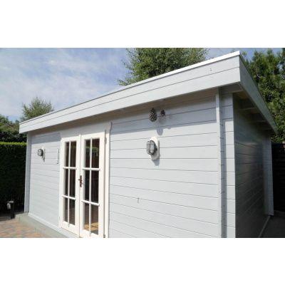 Bild 6 von Azalp Blockhaus Ingmar 400x450 cm, 30 mm