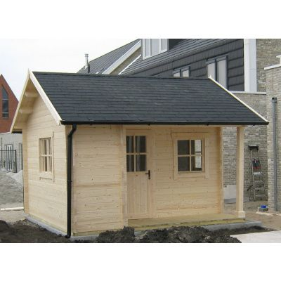 Bild 15 von Azalp Blockhaus Kirkwall 500x550 cm, 45 mm
