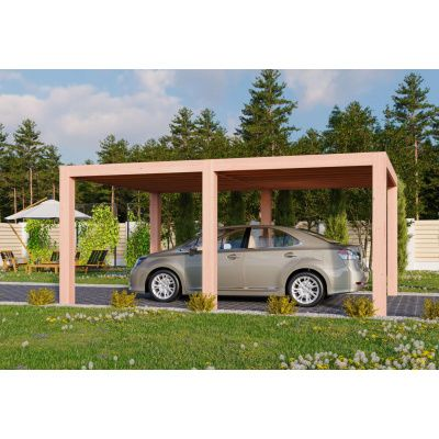Hoofdafbeelding van WoodAcademy Topaas Excellent Douglas Carport 680x300 cm
