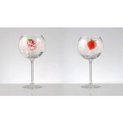Afbeelding 4 van HappyGlass GG707 Balloon Cocktail Glass Gin-Tonic 62,3 cl (set van 2)
