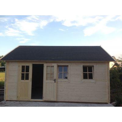 Bild 22 von Azalp Blockhaus Lynn 450x400 cm, 45 mm