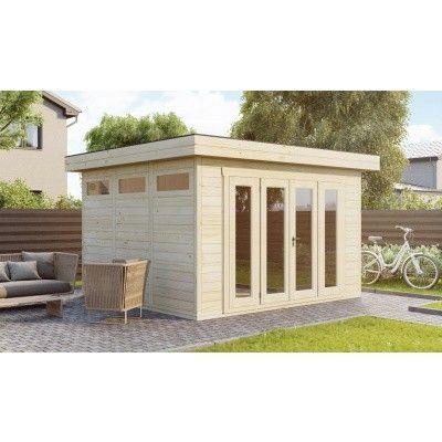 Hauptbild von SmartShed Blockhaus Zenon 450x450 cm, 30 mm