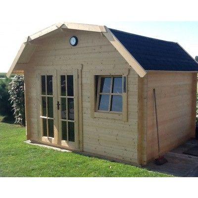 Bild 23 von Azalp Blockhaus Cornwall 400x350 cm, 30 mm