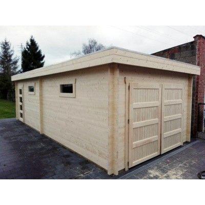 Afbeelding 19 van Azalp Garage Thijs 500x800 cm, 45 mm Modern