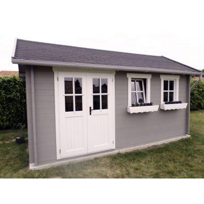 Bild 11 von Azalp Blockhaus Lynn 450x450 cm, 30 mm